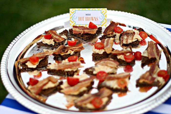 Mini Hot Browns from a Kentucky Derby Garden Party via Kara's Party Ideas | KarasPartyIdeas.com (38)