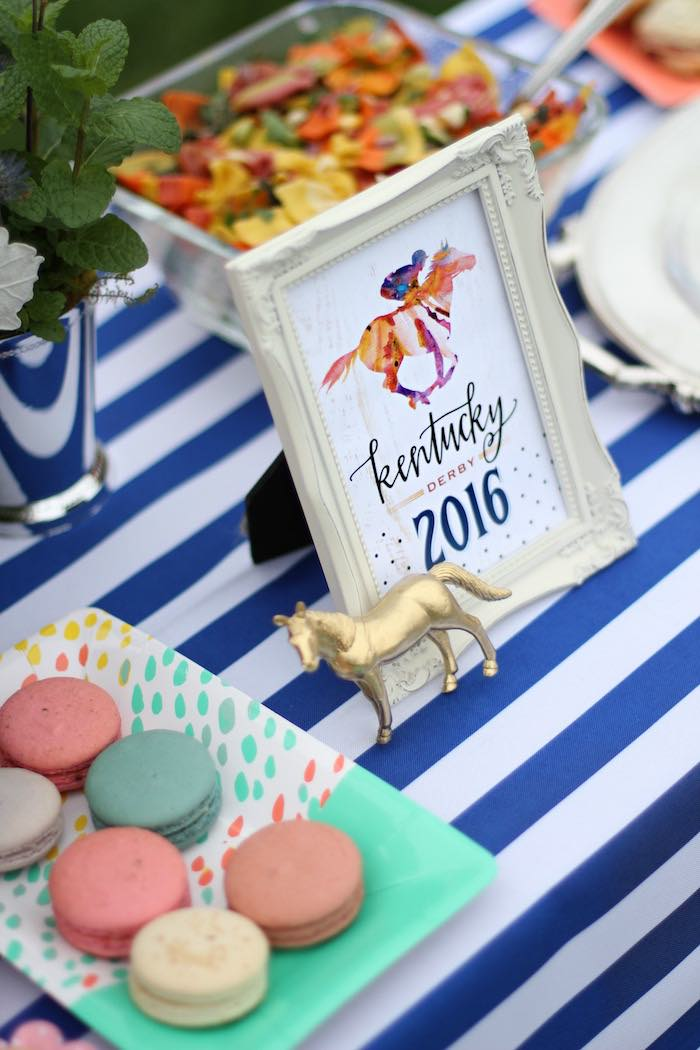 Details from a Kentucky Derby Garden Party via Kara's Party Ideas | KarasPartyIdeas.com (34)