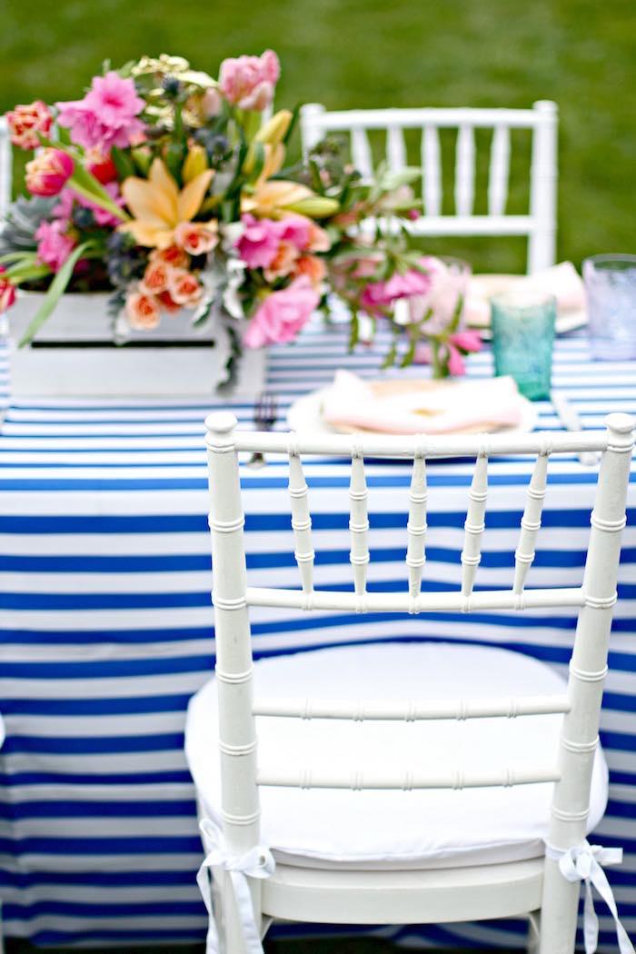Place Setting from a Kentucky Derby Garden Party via Kara's Party Ideas | KarasPartyIdeas.com (24)