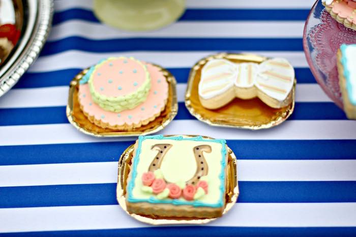Cookies from a Kentucky Derby Garden Party via Kara's Party Ideas | KarasPartyIdeas.com (20)