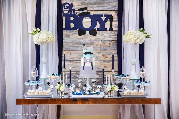 Karas Party Ideas Little Man Baby Shower Karas Party Ideas