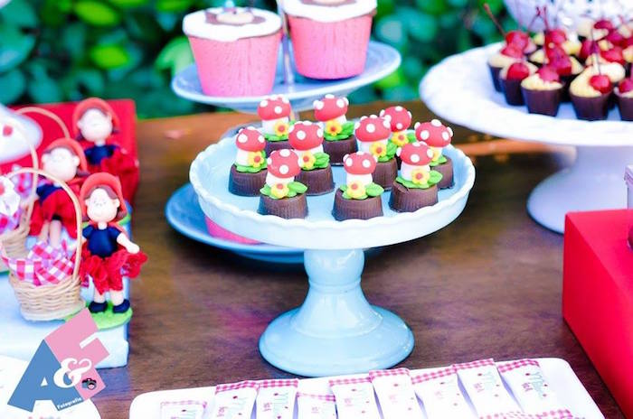 Sweets + Favors from a Little Red Riding Hood Birthday Party via Kara's Party Ideas | KarasPartyIdeas.com (69)
