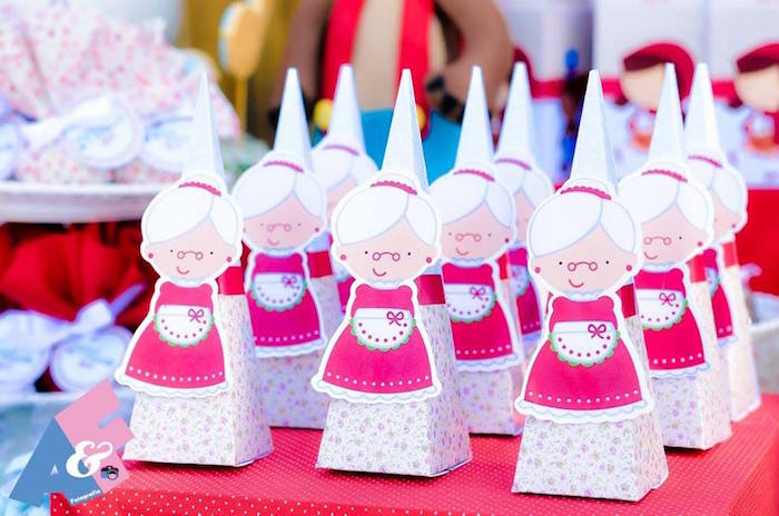 Grandma Favors from a Little Red Riding Hood Birthday Party via Kara's Party Ideas | KarasPartyIdeas.com (60)