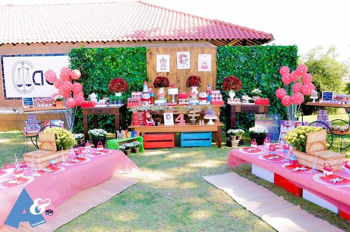 Partyscape from a Little Red Riding Hood Birthday Party via Kara's Party Ideas | KarasPartyIdeas.com (31)