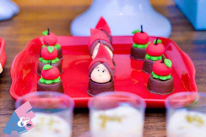 Sweets from a Little Red Riding Hood Birthday Party via Kara's Party Ideas | KarasPartyIdeas.com (19)