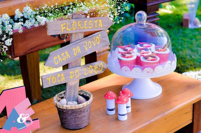 Details from a Little Red Riding Hood Birthday Party via Kara's Party Ideas | KarasPartyIdeas.com (18)