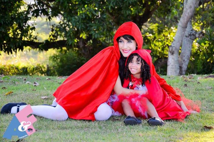 Photo Op from a Little Red Riding Hood Birthday Party via Kara's Party Ideas | KarasPartyIdeas.com (10)
