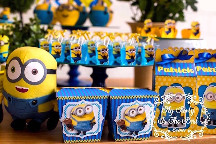 Details from a Minions Birthday Party via Kara's Party Ideas | KarasPartyIdeas.com (29)