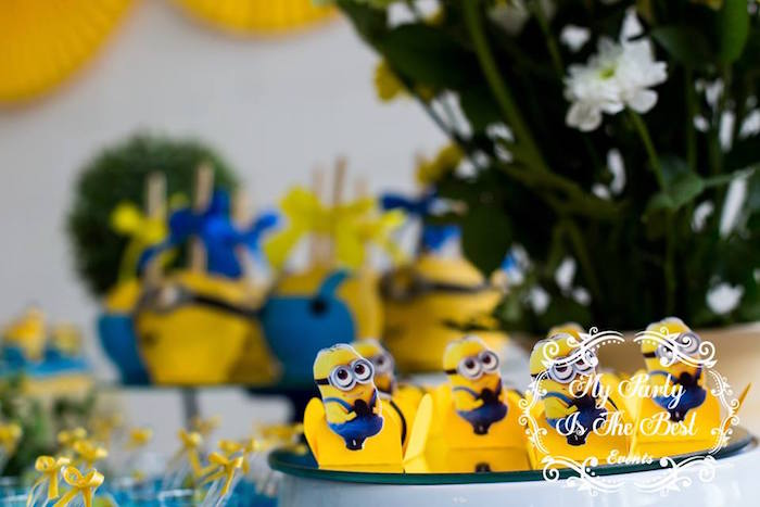 Sweet Details from a Minions Birthday Party via Kara's Party Ideas | KarasPartyIdeas.com (26)