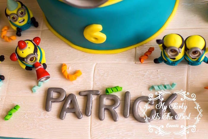 Details from a Minions Birthday Party via Kara's Party Ideas | KarasPartyIdeas.com (7)