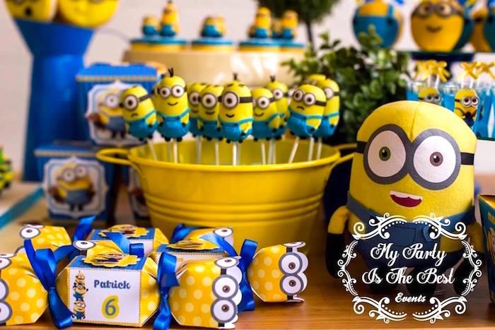 Details from a Minions Birthday Party via Kara's Party Ideas | KarasPartyIdeas.com (6)