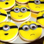 Minion Cookies from a Minions Birthday Party via Kara's Party Ideas | KarasPartyIdeas.com (2)