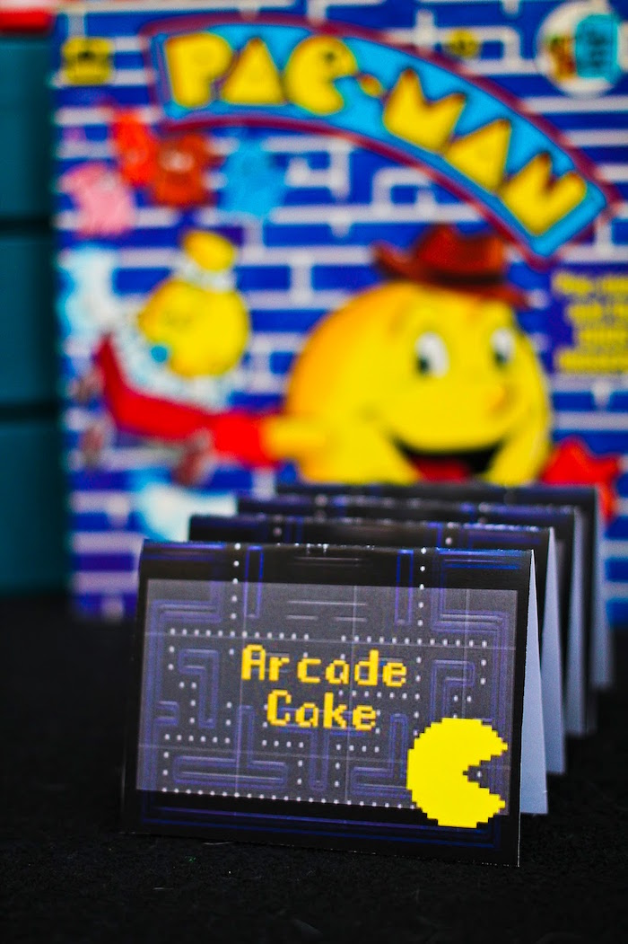 Kara S Party Ideas Pac Man Themed Birthday Party Kara S
