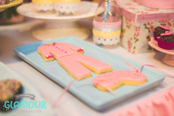 Pajama Cookies from a Pajama Sleepover Themed Birthday Party via Kara's Party Ideas | KarasPartyIdeas.com (17)