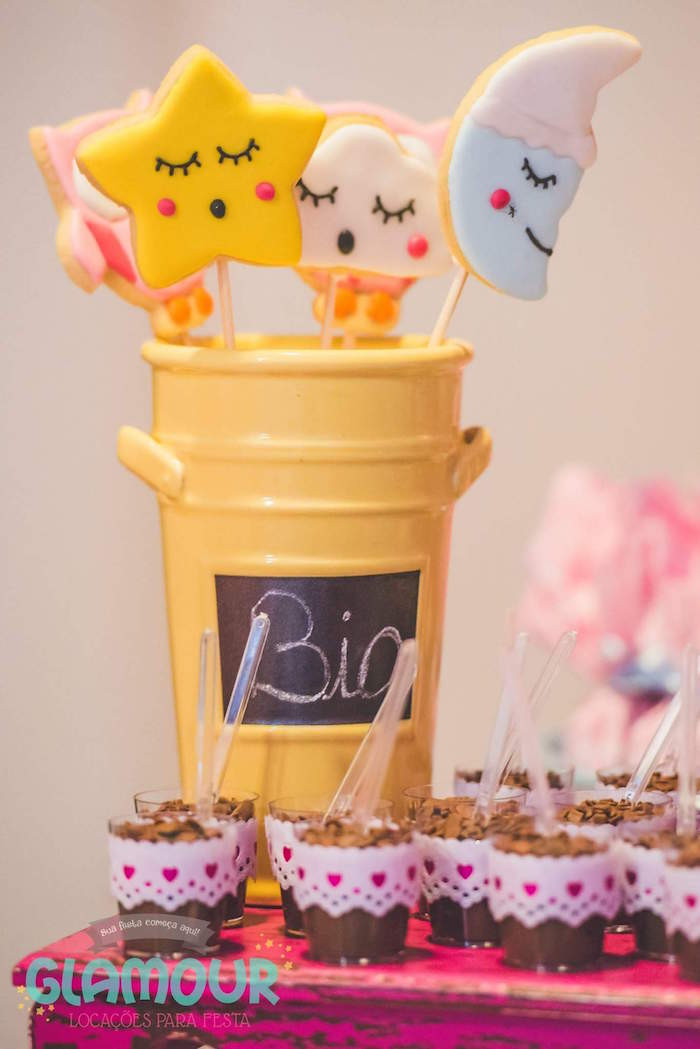 Cookie Pops from a Pajama Sleepover Themed Birthday Party via Kara's Party Ideas | KarasPartyIdeas.com (4)