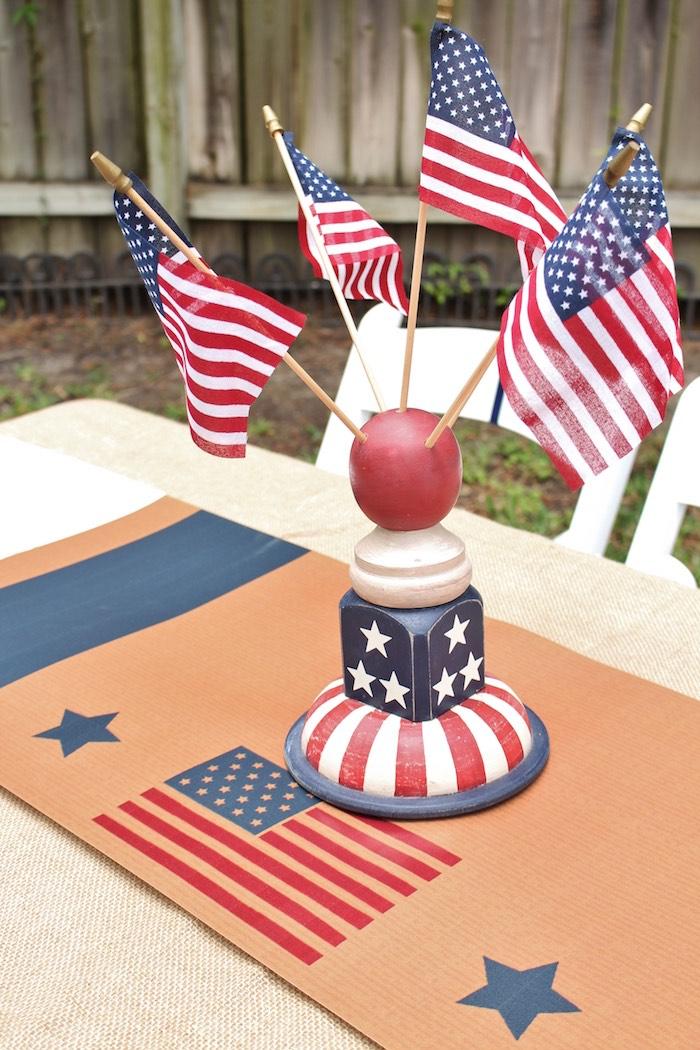 Kara S Party Ideas Patriotic Memorial Day Backyard Bbq