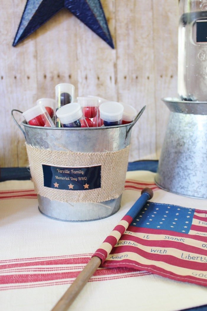Kara S Party Ideas Patriotic Memorial Day Backyard Bbq