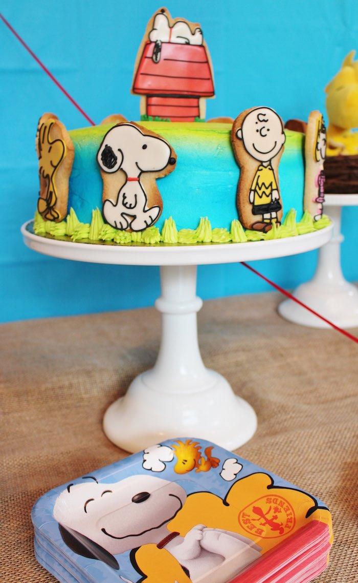 Peanuts Movie Birthday Cake