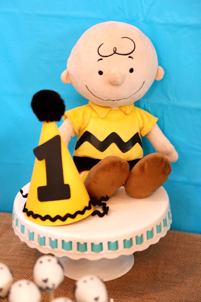 Kara S Party Ideas Peanuts Charlie Brown Birthday Party Kara S Party Ideas