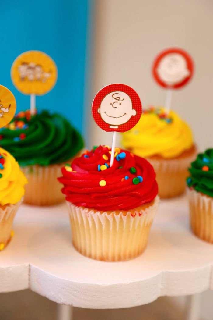 Charlie Brown Cake Toppers