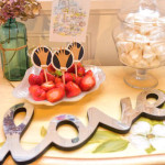 Details from a Pearls of Wisdom Bridal Shower via Kara's Party Ideas | KarasPartyIdeas.com | The Place for All Things Party! (1)