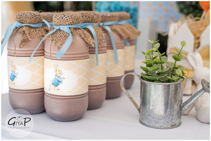 Drinks from a Peter Rabbit Birthday Party via Kara's Party Ideas | KarasPartyIdeas.com (10)