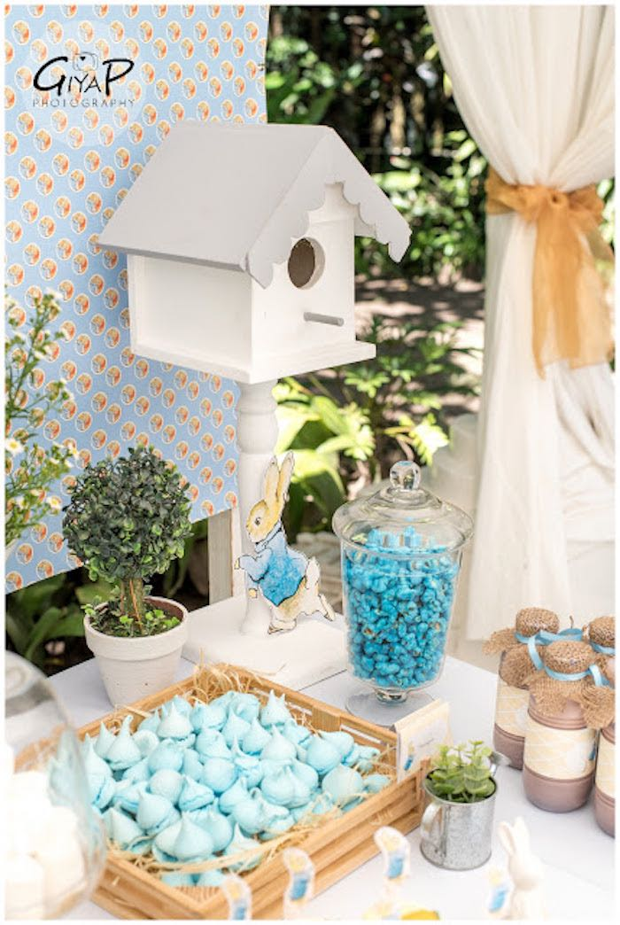 Details from a Peter Rabbit Birthday Party via Kara's Party Ideas | KarasPartyIdeas.com (4)