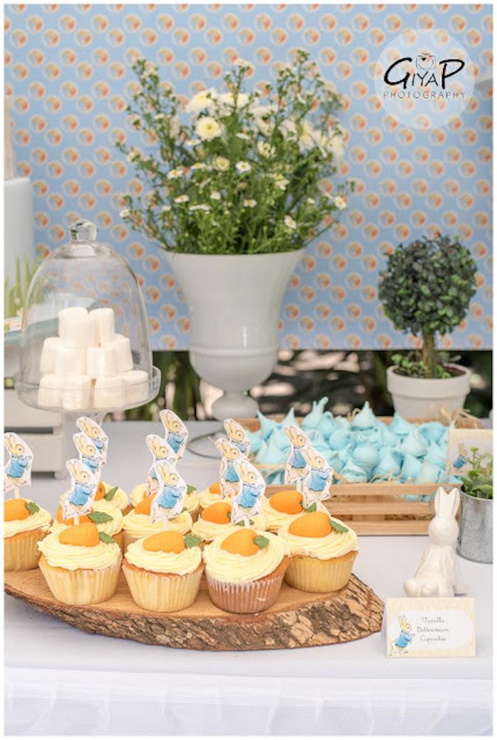 Sweet Table Details from a Peter Rabbit Birthday Party via Kara's Party Ideas | KarasPartyIdeas.com (18)