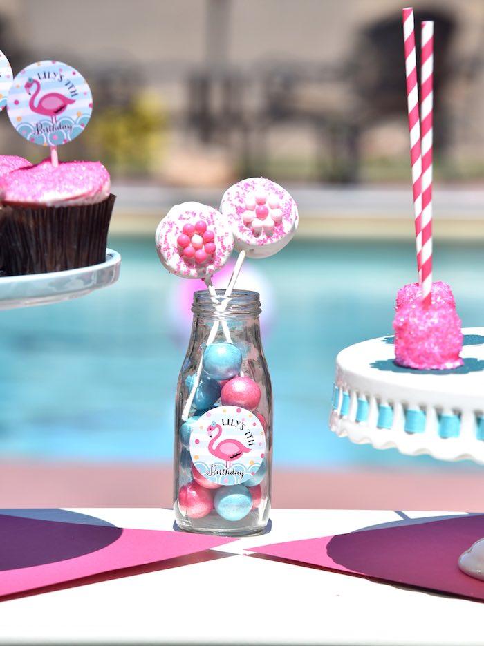 Kara S Party Ideas Pink Flamingo Pool Party Kara S Party