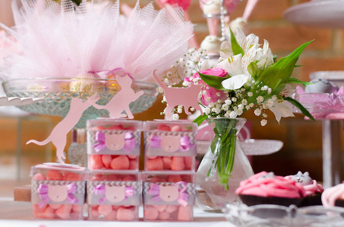 Details From A Pink Kitten Birthday Party Via Karas Ideas