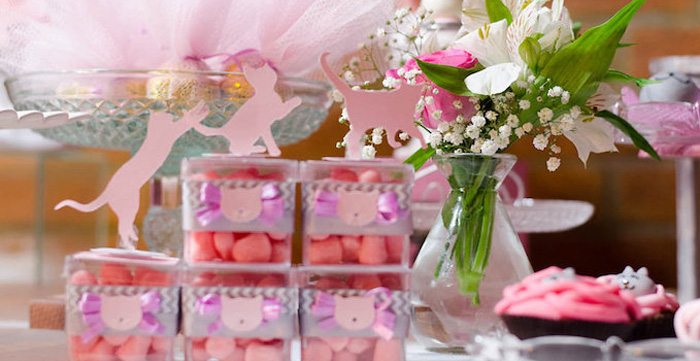 Details from a Pink Kitten Birthday Party via Kara's Party Ideas - KarasPartyIdeas.com (1)