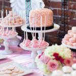 Dessert Table Details from a Pink Paris 1st Birthday Party via Kara's Party Ideas KarasPartyIdeas.com (2)