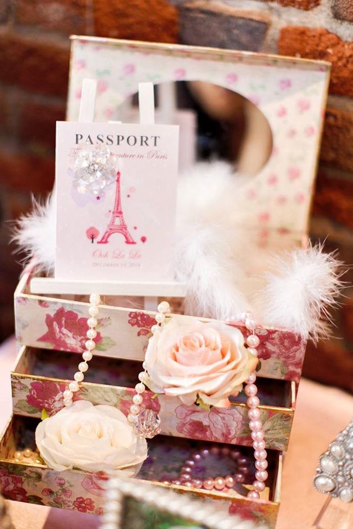 Party Decor from a Pink Paris 1st Birthday Party via Kara's Party Ideas KarasPartyIdeas.com (24)