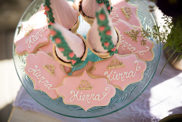 Cookies from a Princess Birthday Party via Kara's Party Ideas | KarasPartyIdeas.com - The Place for All Things Party! (20)