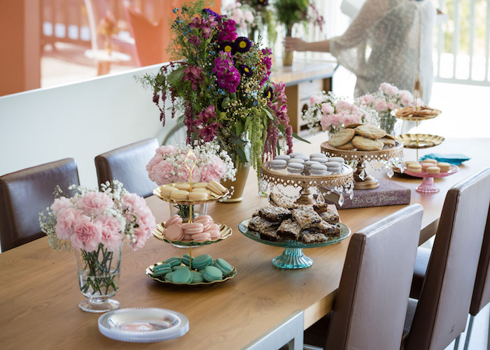 Table full of Assorted Sweets from a Princess Birthday Party via Kara's Party Ideas | KarasPartyIdeas.com - The Place for All Things Party! (17)