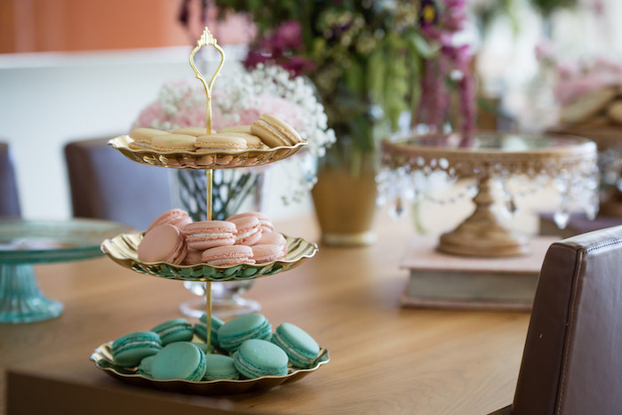 Macarons from a Princess Royal Ball Birthday Party via Kara's Party Ideas | KarasPartyIdeas.com - The Place for All Things Party! (7)