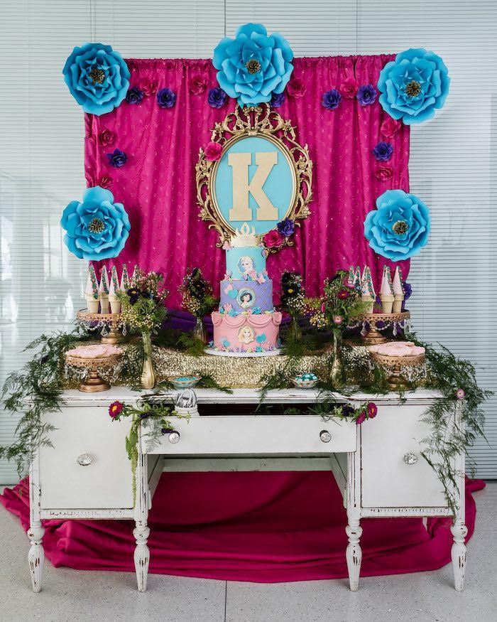 Kara S Party Ideas Royal Princess First Birthday Party: Kara's Party Ideas Princess Royal Ball Birthday Party