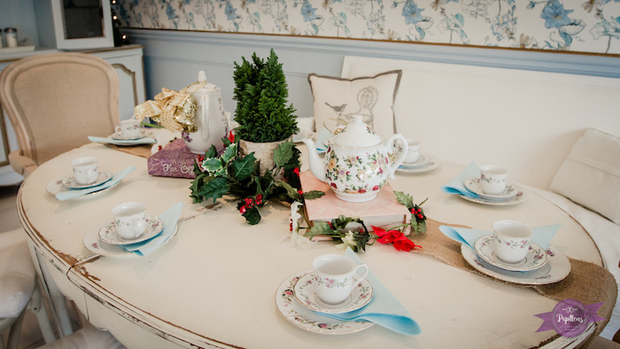 Dinging Table from a Princess Royal Ball Birthday Party via Kara's Party Ideas | KarasPartyIdeas.com - The Place for All Things Party! (28)