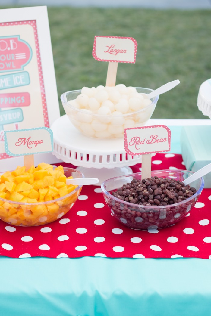 Food Dishes from a Retro Diner Themed Mother's Day Party via Kara's Party Ideas | KarasPartyIdeas.com - The Place for All Things Party! (14)