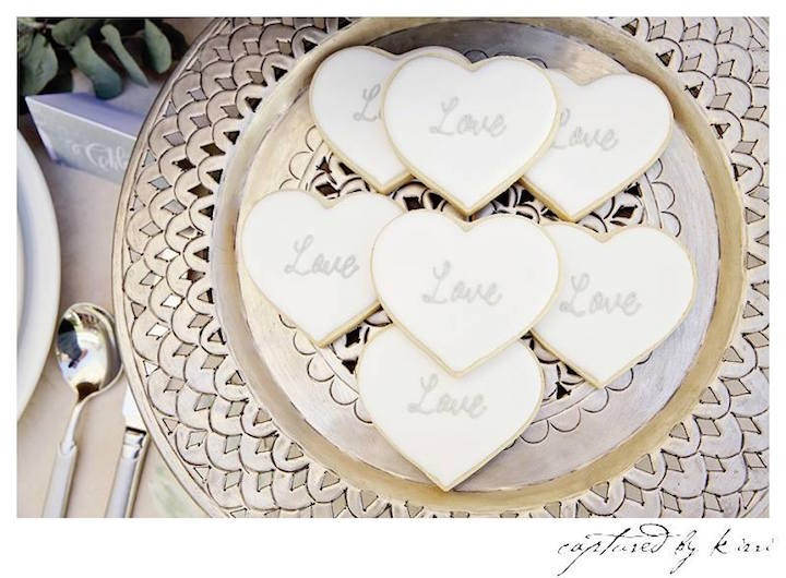 Cookies from a Rustic Outdoor Bridal Shower via Kara's Party Ideas | KarasPartyIdeas.com | The Place for All Things Party! (30)