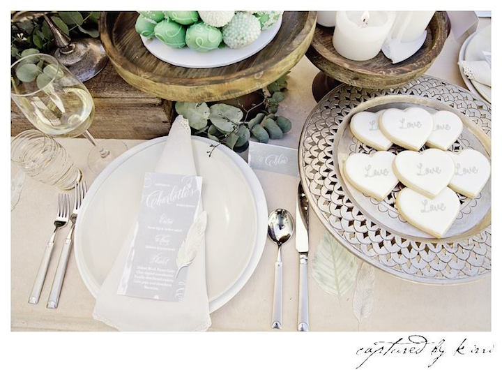 Place Setting from a Rustic Outdoor Bridal Shower via Kara's Party Ideas | KarasPartyIdeas.com | The Place for All Things Party! (29)