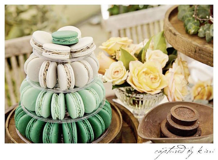Macarons from a Rustic Outdoor Bridal Shower via Kara's Party Ideas | KarasPartyIdeas.com | The Place for All Things Party! (54)