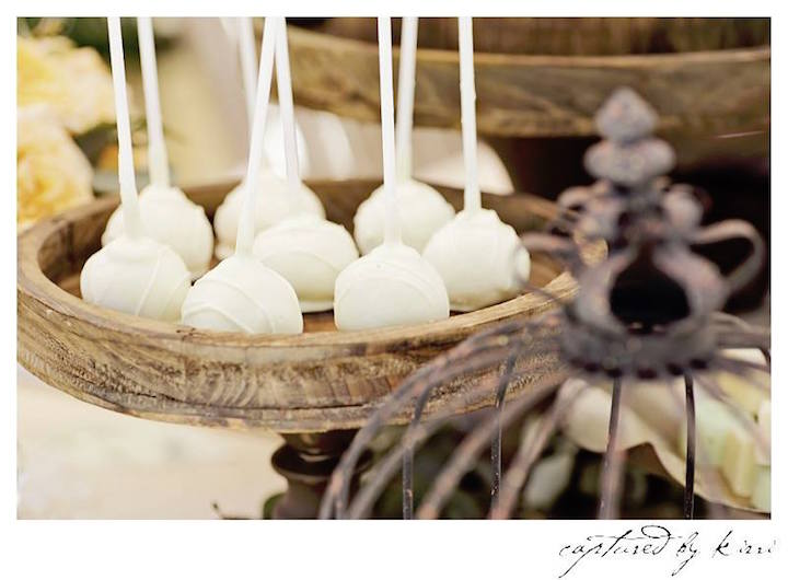 Cake Pops from a Rustic Outdoor Bridal Shower via Kara's Party Ideas | KarasPartyIdeas.com | The Place for All Things Party! (11)