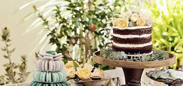 Karas Party Ideas Rustic Outdoor Bridal Shower