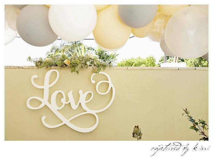 Party Backdrop + Decor from a Rustic Outdoor Bridal Shower via Kara's Party Ideas | KarasPartyIdeas.com | The Place for All Things Party! (50)