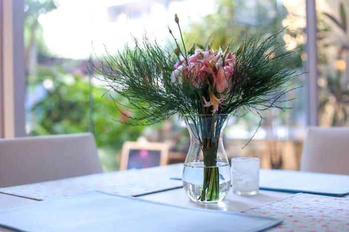 Guest Table from a Rustic Shabby Chic Wedding via Kara's Party Ideas - KarasPartyIdeas.com (20)