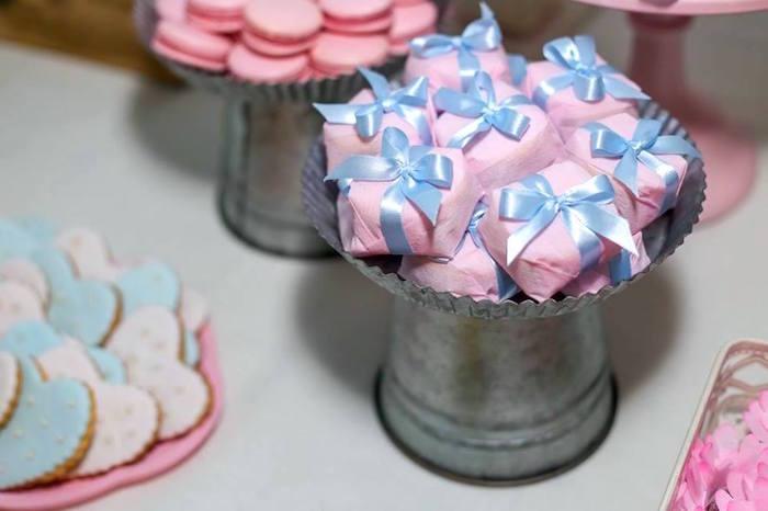 Favors from a Rustic Shabby Chic Wedding via Kara's Party Ideas - KarasPartyIdeas.com (19)