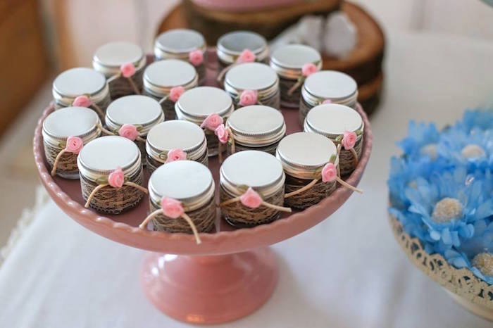 Shabby Chic Wedding Favors Image Collections