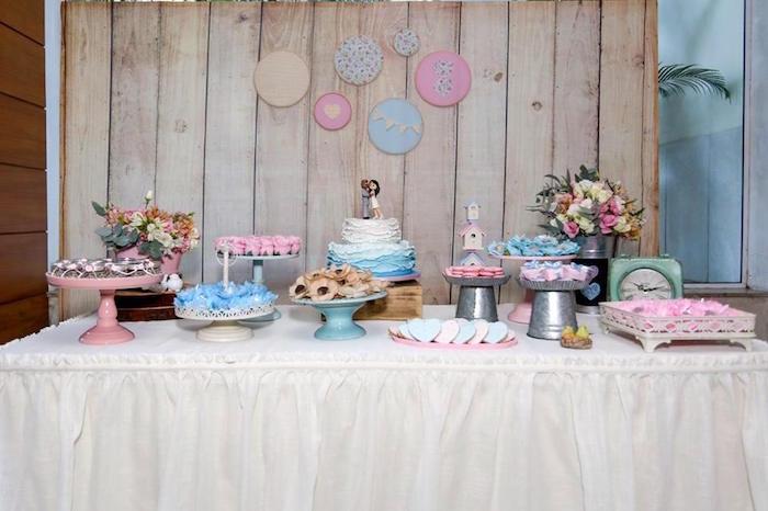 Kara\'s Party Ideas Rustic Shabby Chic Wedding | Kara\'s Party Ideas
