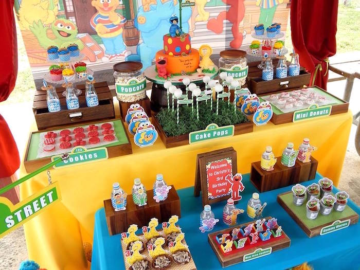 Sesame Street Cake Decorations